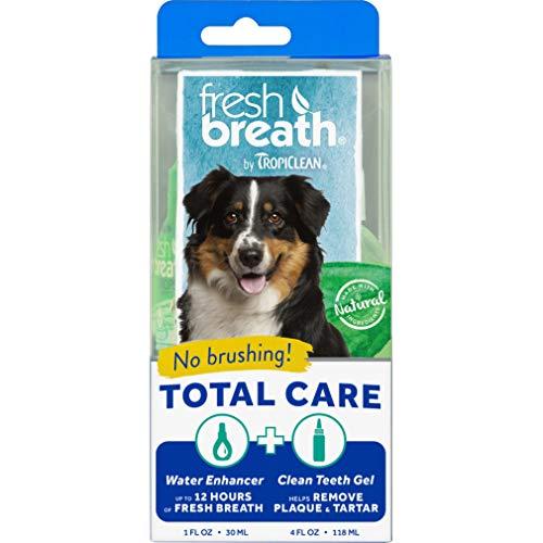 Fresh Breath by TropiClean Total Care Oral Gel Kit, 4oz