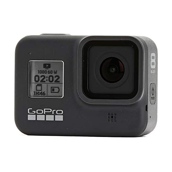 Gopro hero8 black waterproof action camera w/touch screen 4k hd video 12mp photos +sandisk extreme 128gb micro memory… 2 exclusive bundle: this bundle includes everything you need to start capturing your adventures and family events with high quality video/images with the newly upgraded hero camera. Gopro hero 8: vloggers, pro filmmakers and aspiring creators can do more than ever imagined -with quick loading accessories like flashes, microphones, lcd screens and more. Just add the optional media mod to up your capture game. Camera key features: hypersmooth 2. 0 video stabilization, superphoto with hdr, timewarp 2. 0 video, liveburst, live streaming, 4k60 video and 12mp photos, shoot vertically.
