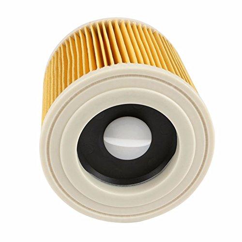 REFURBISHHOUSE Reemplazo Bolsas De Filtros De Polvo De Aire para Karcher Piezas De Aspiradoras Filtro Hepa De Cartucho Wd2250 Wd3.200 Mv2 Mv3 Wd3