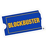 Stickers Blockbuster Sticker Car Decals Backpack Vinyl (3 Pcs/Pack) 3x4 Inch