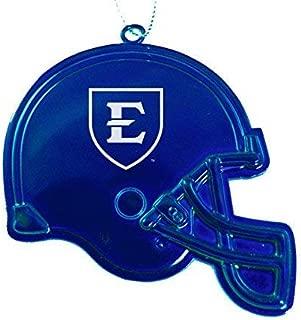 East Tennessee State University - Chirstmas Holiday Football Helmet Ornament - Blue