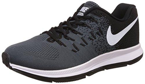 Nike Men's Air Zoom Pegasus 32 Running Shoe Black/Dark Grey/Pure Platinum/White Size 10.5 M US