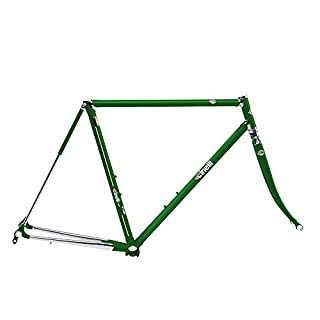 Cinelli Men's Supercorsa Bicycle Frame Set, 54cm/One Size, Jaguar Green (B078W7VHNF)   Amazon price tracker / tracking, Amazon price history charts, Amazon price watches, Amazon price drop alerts