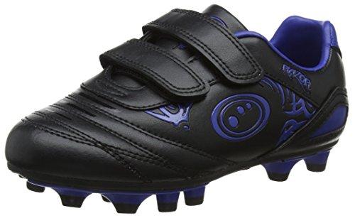 Optimum Jungen Razor Fußballschuhe, Blau (Black/blue), 26 EU