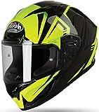 Airoh VAR31 Casco de moto integral amarillo brillante Valor Raptor Talla L