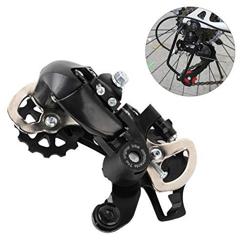 FOLOSAFENAR Powertrains - Desviador de Bicicleta de montaña Duradero de Metal con Revestimiento de flúor de Baja fricción, para Bicicletas de montaña de 21/24 velocidades