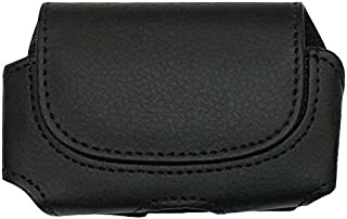 (H2-BLACK) Classic Premium Pouch Case with Belt Clip FOR Medtronic: Minimed 640g insulin pump (Medtronic) -SNK Retail packaging