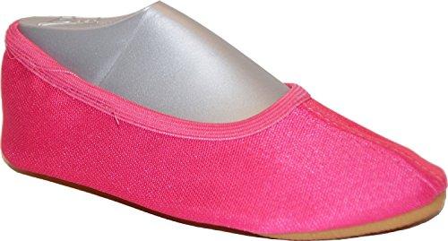 Beck Basic 070 Mädchen Sport- und Gymnastikschuh, Farbe: Pink, Größe: 23
