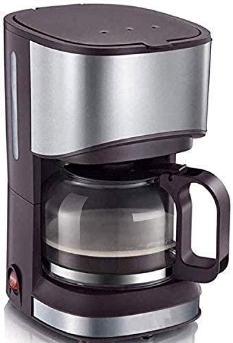 Automatisk kaffebryggare hushåll dropptyp liten minikaffebryggare håll varm anti-droppdesign utbytbart filter för kontorets hemsida