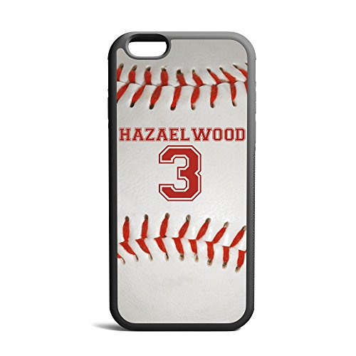 CodeiCases Compatible/Replacement Case Cover with Baseball Design and Custom Name and Number for iPhone 7