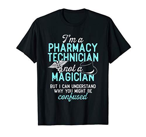 Pharmacy Technician Magician Certified Pharma Tech T-Shirt