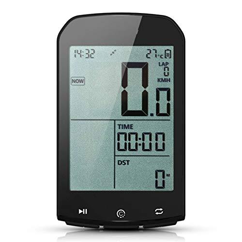 Lshbwsoif Ciclo Computadoras Smart GPS Ciclismo Ordenador Bicicletas Odómetro Velocímetro