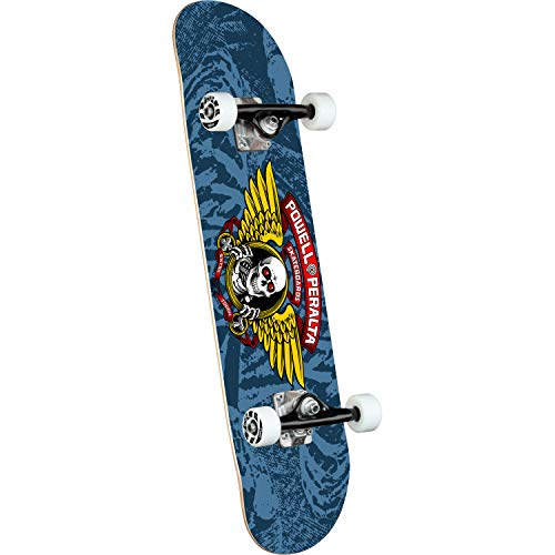 Powell-Peralta Skateboard, 20,3 x 79,9 cm, Blau