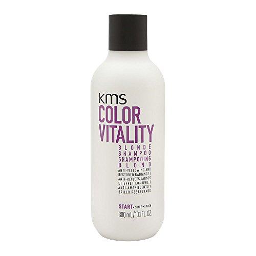 KMS California Color Vitality - Champú para el pelo rubio, 300 ml