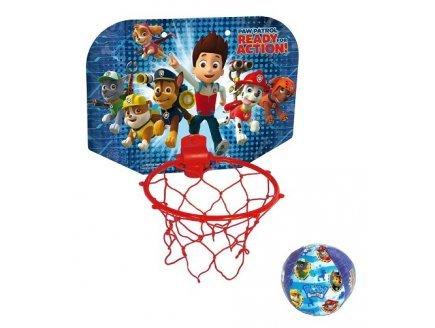 Gen 13 Set Mini Basket Pat Patrouille + Balle (Panneau 30x23 cm - Ballon Ø10 cm)