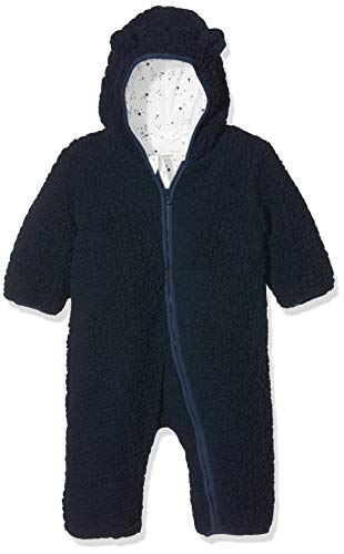NAME IT Baby-Jungen NBMMAUV Suit Schneeanzug, Blau (Dress Blues Dress Blues), 74/80 (Herstellergröße: 74-80)