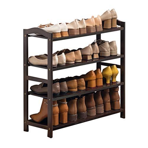 YIXIN2013SHOP Zapatero de bambú multicapa simple y económico zapatero para el hogar, gran capacidad, muy adecuado para pasillos, baños/jardines apilables estante de almacenamiento de zapatos