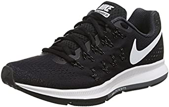 Nike Women's Air Zoom Pegasus 33 OC Running Shoe Black/Cool Grey/Wolf Grey/White 9.5
