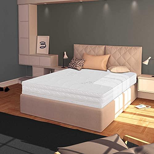 Baldiflex Materasso Singolo 90x200 cm, Easy Silver Altezza 15 cm, Fodera in Silver Safe + Cuscino Omaggio