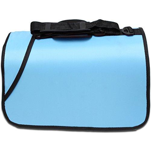 Kleintier Tasche Transporttasche Box Katze Hund Kaninchen ca. 45x25x23cm blau - 2