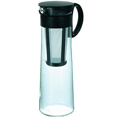 Hario MCPN-14B Mizudashi Cold Brew Coffee Pot, 1000 ml, Black