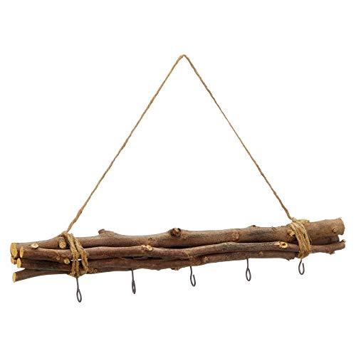 Meinposten. Dekozweige 50 cm Zweige Holz Fensterhänger mit 5 Haken Hängezweige Shabby Deko Landhaus