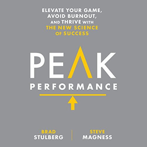 Peak Performance     Elevate Your Game, Avoid Burnout, and Thrive with the New Science of Success              De :                                                                                                                                 Brad Stulberg,                                                                                        Steve Magness                               Lu par :                                                                                                                                 Christopher Lane                      Durée : 6 h et 34 min     7 notations     Global 4,7