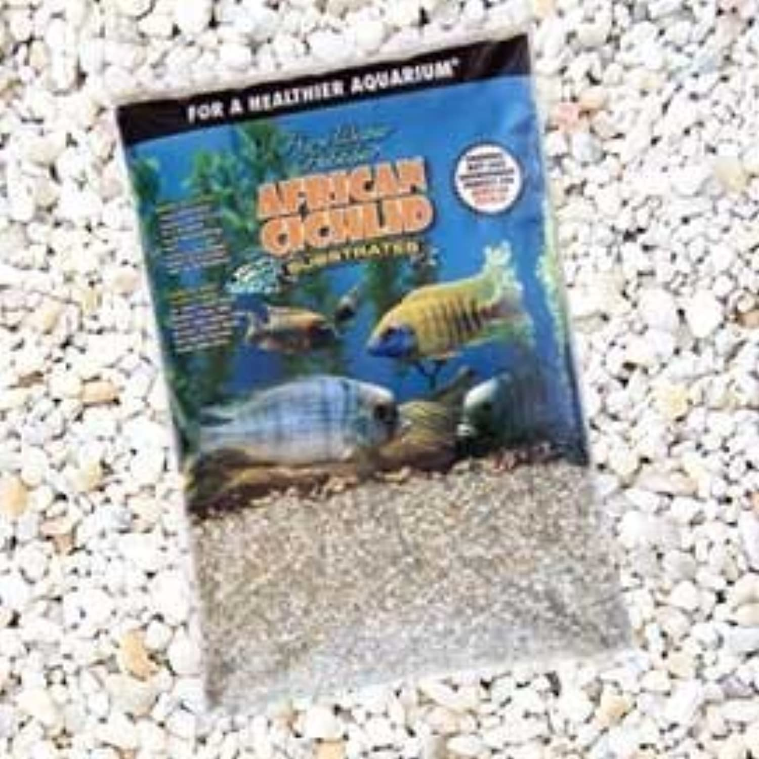 African Cichlid Substrates Rift Lake Gravel for Aquarium, 20Pound, Dry by WORLD WIDE IMPORTS ENT., INC.