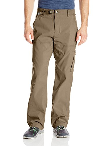 "prAna - Men's Stretch Zion Lightweight, Durable, Water Repellent Pants for Hiking and Everyday Wear, 32"" Inseam, Mud, 36"