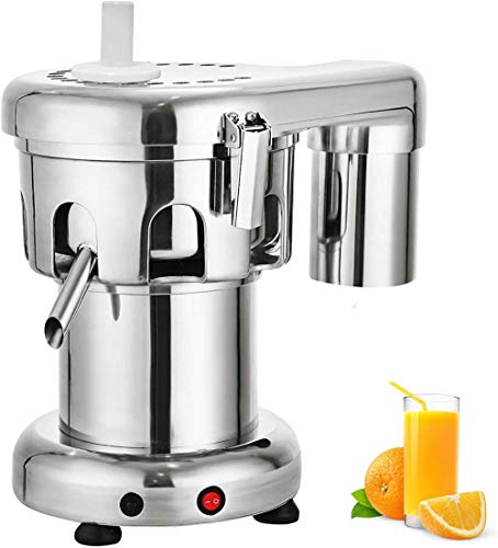 Exprimidor Automático Comercial 550W Extractor De Jugo De Frutas Y Verduras Eléctrico,...