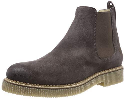Apple of Eden Dora, Chelsea Boots Femme, Gris foncé 14, 37 EU