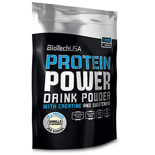 BiotechUSA Protein Power Chocolate 1000 g sacchetto da 1000 g