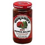 HOWARD'S Premium Pepper Relish   Gluten Free, All Natural   Perfect for Hamburgers, Hot Do...