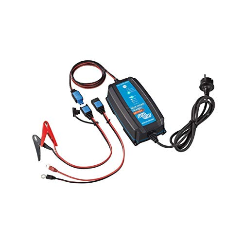 Victron Energy Victron BlueSmart Batterieladegerät IP65 12/10 mit integriertem Bluetooth für alle Batterietypen 12V 10A BPC121031064R BPC121031034R