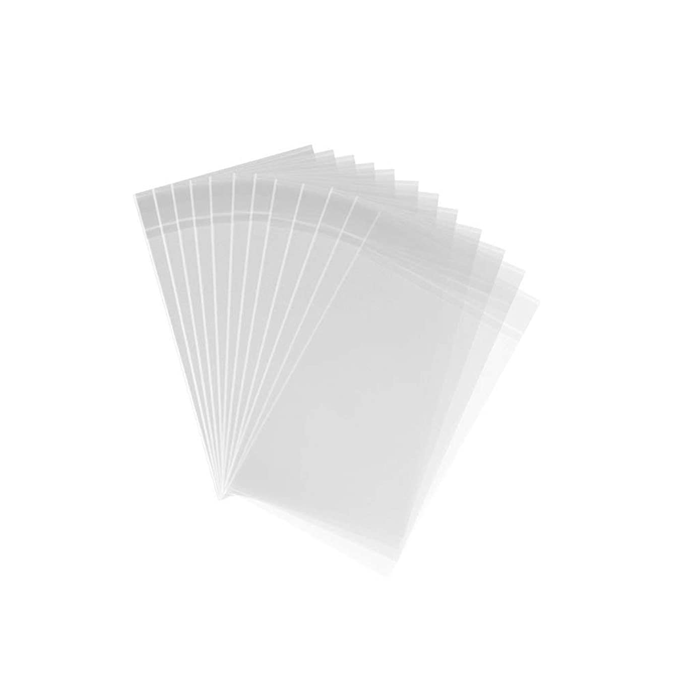 1,000 Crystal Clear 4 x 6 Resealable Cellophane Bags - 1.5 Mil Thick Self Sealing PP Poly Bags for Jewelry, Candy & Baked Goods (1,000-pack)
