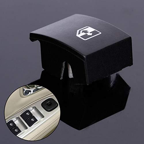 Sunnyflowk Für Vauxhall Opel Astra Mk5 Zafira Tigra B Fensterheber-Schalter Taste Abdeckung (schwarz)