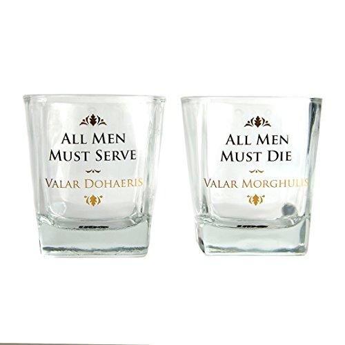 Game of Thrones Glas Tumbler (2er Set) - Alle Männer