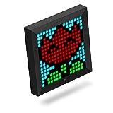 DIVOOM PIXOO Marco LED Programable Color Negro, Bluetooth, 256 RGB Leds