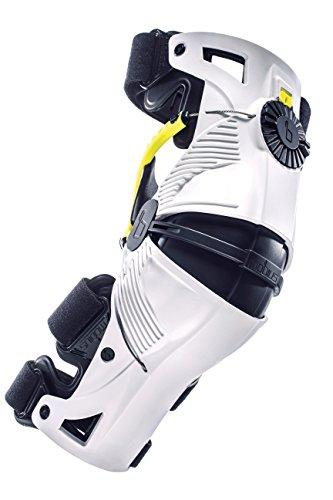 MOBIUS 8 x Knee Pads, White/Yellow, XL