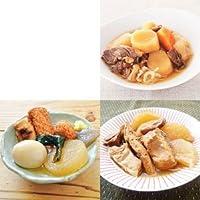 保存料 着色料 不使用 レトルト 和風 惣菜 長期保存 3種類6袋セット (1袋あたり約1-2人前入 ロングライフシリーズ 煮物)