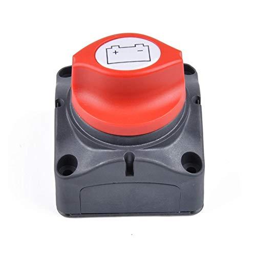 ZHANGJIN Interruptor de Corte 12V-60V 100A-300A Car Auto RV Marina del Barco Selector de batería aislador de desconexión Rotary (Color : 1 PCS)