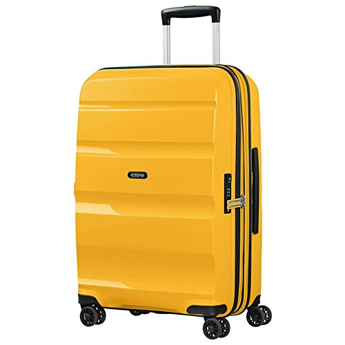 American Tourister Bon Air DLX Valigia trolley (4 ruote) giallo 66 cm