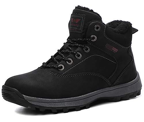 ARRIGO BELLO Hombre Botas Mujer Botines Zapatos Invierno Botas de Nieve Cálido Fur Forro Aire Libre Boots Urbano…