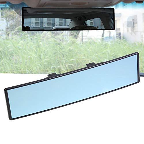 Car Interior Espejo Retrovisor Interior con Ventosa Espejo Panorámico Retrovisor Interior de Coche Clip Interior Universal Antirreflejo en el Retrovisor Espejo Ajustable Universal para Coche Camion