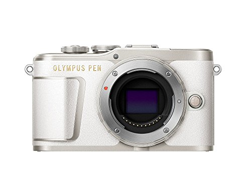 Olympus Pen E-PL9 cámara de Sistema Micro Cuatro Tercios, 16 megapíxeles, estabilizador de Imagen, Visor electrónico, vídeo 4K, Blanco