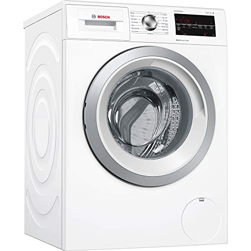 Bosch Serie 6 WAT24463GB 9kg White Washing Machine with A+++-30% Energy Rating, 1200rpm Spin Speed and EcoSilence Drive