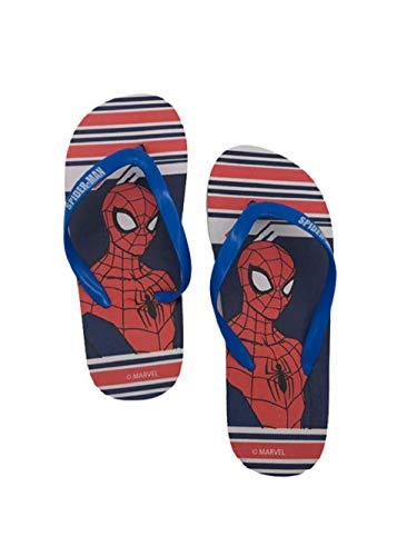 Tongs Spiderman - Marvel garçon 100% polyethylene (BLEU, numeric_26)