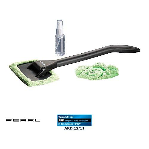 PEARL Autoscheibenreiniger: Windschutzscheiben-Wunder mit Gelenk-Kopf und Pump-Sprühflasche (Windschutzscheiben Reiniger)