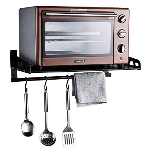 Estantes de microondas para cocina Estantes de estante de horno de pared Soporte de almacenamiento de horno eléctrico multifunción 60cm