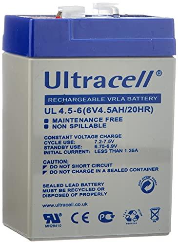 HQ 6V 4Ah Universal Sealed Rechargeable Lead Acid B
